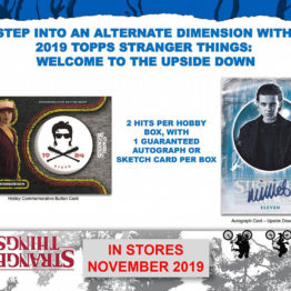 Topps Stranger Things Welcome to the Upside Down Hobby Box