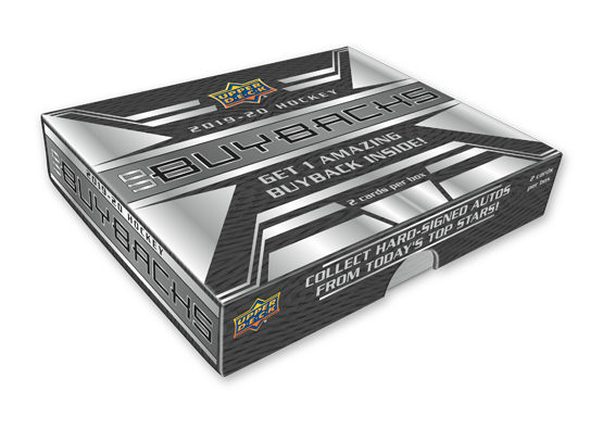 2019-20 Upper Deck Buybacks Hockey Hobby Box
