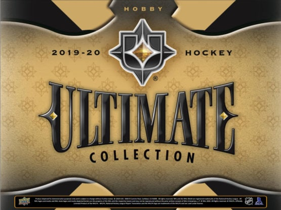 2019-20 Upper Deck Ultimate Collection Hockey Hobby Box