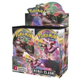 Pokemon Sword and Shield Rebel Clash booster box