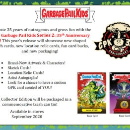 2020 Garbage Pail Kids Series 2 Hobby Collectors Box