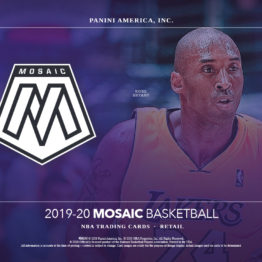 2019-20 Panini Mosaic Basketball Multi-Pack Box