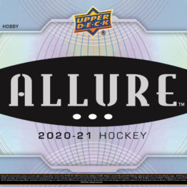 2020-21 Upper Deck Allure Hockey Hobby Box