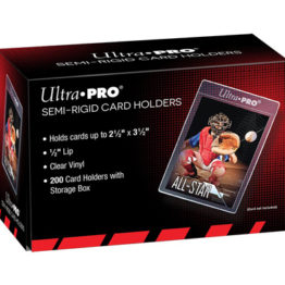 200 Ultra Pro Semi-Rigid Card holders