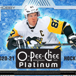 2020-21 O-Pee-Chee Platinum Hockey Hobby Box