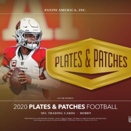 2020 Panini Plates and Patches Football Hobby Box